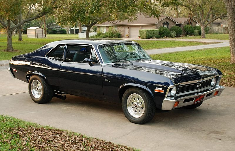Chevy Muscle Cars >> Nova SS Information, Chevy Nova SS, Muscle Cars of the 1960's and 1970's, Chevy II and Nova